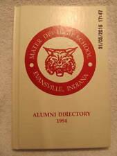 1994 Mater Dei High School Alumni Directory Evansville IN Hundreds of Names