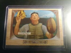 1955 Bowman #34 Clint Courtney EX White Sox No creases, well centered