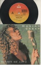 "MARIAH CAREY   Rare 1st 1990 Australian Only 7"" OOP P/C Single ""Vision Of Love"""