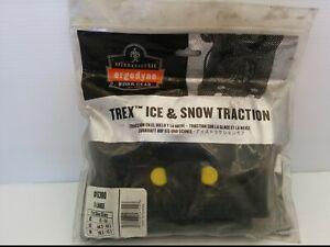 ERGODYNE #6300 TREX ICE & SNOW TRACTION GRIPS, X-LARGE: SIZE 11-14, BLACK, NIB
