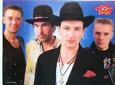 "U2 hats magazine PHOTO / mini Poster 11x8"""