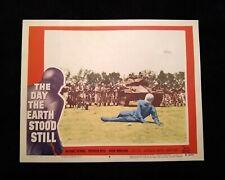 The Day The Earth Stood Still 1951 Lobby Card #6 Vintage Sci-Fi Michael Rennie