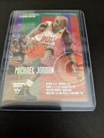 Michael Jordan 1995-96 Fleer Card #22.   Chicago Bulls Multicolor Insert