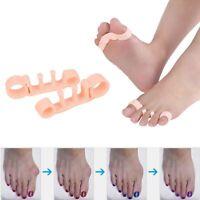 2 x Silicone Gel Bunion Foot Toe Corrector Orthotics Straightener Separator Pain