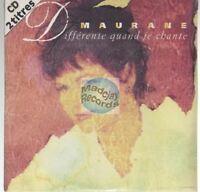 Maurane Différente Quand Je Chante CD SINGLE neuf new + sticker promo