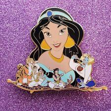 "Disney Fantasy Pins Jasmine Aladdin ""Hollar"" iJumbo Pin"