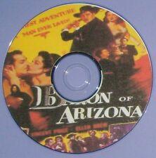WESTERN 37: THE BARON OF ARIZONA (1950) Sam Fuller, Vincent Price, Ellen Drew
