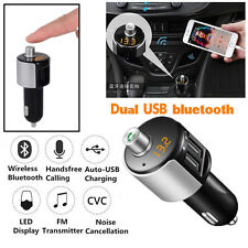 Wireless Bluetooth Car Kit Handsfree FM Transmitter Radio MP3 Player USB Charger