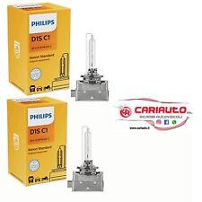 Coppia Lampada Xeno Philips D1S  85415C1 35W 85V Per Fari Allo Xenon STANDARD