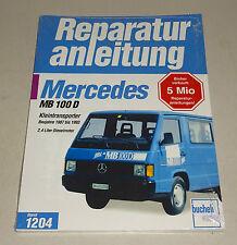 Reparaturanleitung Mercedes MB 100 D Kleintransporter - Baujahre 1987 bis 1993!