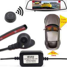 Smart Car Side/Rear View Camera Switch Kit AV In DVR Parking Accessories +Button