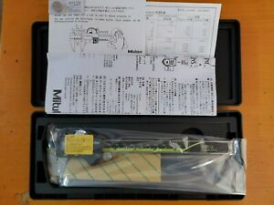 "100%authentic Japan Mitutoyo 500-196-20 / 30 150 mm/6 ""absolute digital caliper"