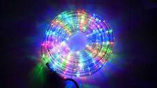 fr* TUBO LUCI LED PER ADDOBBI NATALE 30 METRI RGB MULTICOLORE INTERNO ED ESTERNO