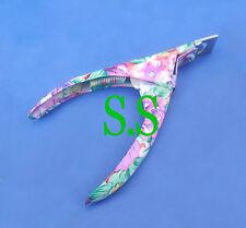 Pro Acrylic False Nail Art Tips Cutter Clipper Paper Coated B-775