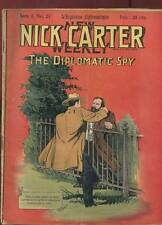 FASCICULE NICK CARTER SERIE II N°21. ED A. EICHLER. DEBUT DE SIECLE.
