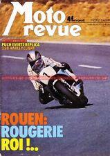 MOTO REVUE 2262 PUCH 250 HONDA GL 1000 Gold Wing Harley Davidson GP de Rouen 76