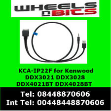 KCA-ip22f iPod/iPhone for Kenwood DDX3021 DDX3028 for music & video playback