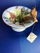 New listing New Blue Sky Heather Goldminic Stunning Trinket Dish #Brs11226