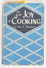 The Joy of Cooking Irma S. Rombauer 1943 Wartime Edition Hardcover Signed