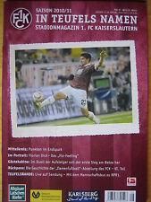Programm Stadionheft | 1. FC Kaiserslautern - FC St. Pauli | 29.04.11 | FCK NEU