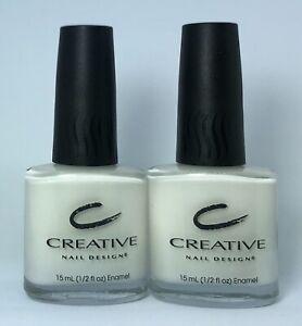 CND Creative Nail Design Nail Polish RETRO WHITE 442 Special White Lacquer