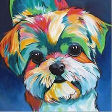 5D Diamond Painting Full Drill Yorkshire Dog Diy Embroidery Cross Stitch Kits