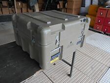 MILITARY SURPLUS STORAGE CONTAINER  27x25x16 ARMY CASE CHEST TOOL CAMERA BOX