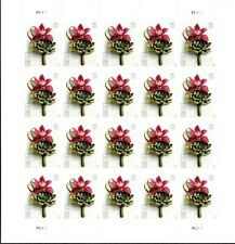 Contemporary Boutonniere 2020 stamps Scott (5457) Pane 20 MNH One Ounce Forever