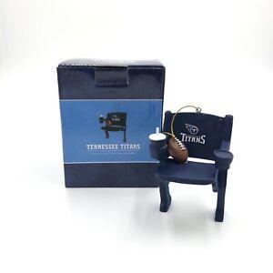Tennessee Titans Football NFL Christmas Ornament Stadium Chair SGA