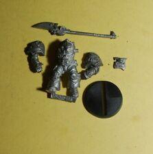 Warhammer 40k-Rogue Trader-Imperial-Gris Caballero Terminator con alabarda # B
