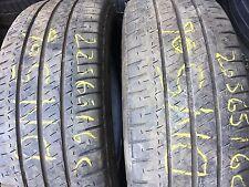 2 XMichelin Agilis 225 65 16C 112/110R 5mm DN506  Summer  car tyres free fitting