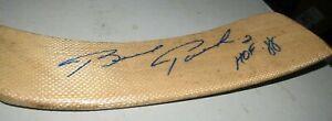 Brad Park Boston Bruins New York Rangers Detroit Red Wings Signed Stick Blade