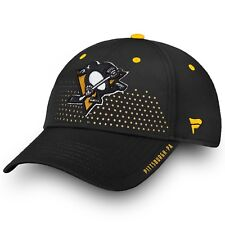 Men's 2018 Pittsburgh Penguins Fanatics Official Draft Structured Flex Hat M/L