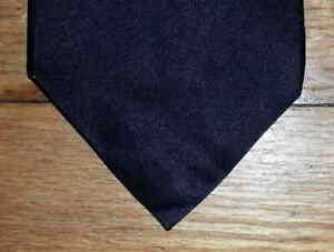 Harken Ltd Tie Silk Solid Black Shimmering NIB t3981