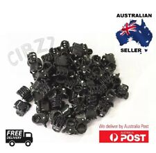 20x Mini Hair Claw Clips Small Plastic Black Clamps Kids Girls Womens Style Tool