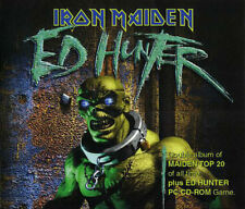 Iron Maiden CD and PC Game Ed Hunter 3 Disc Box Set 1999 Portrait COMPLETE Metal