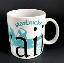 Starbucks Coffee Large HAWAII Mug Cup Bone China 2007