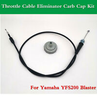 Tavaski Throttle Cable with Eliminator,Fit for 1988-2006 Yamaha Blaster 200 YFS200,Replace 01-0390