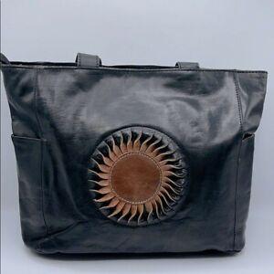 Handmade leather bag good condition !