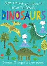 NEW - How to Draw Dinosaurs: Includes 58+ Shapes to Draw Around!