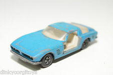 LESNEY MATCHBOX SUPERFAST 14 ISO GRIFO MET. BLUE GOOD CONDITION