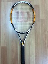 """Wilson [K] Factor Zen 110 Oversize Tennis Racket Racquet 4-1/2"""" Rare Free Ship"""