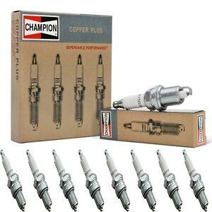 8 Champion Copper Spark Plugs Set for NASH AMBASSADOR SPECIAL 1956 V8-4.1L