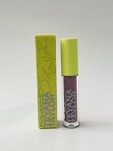 MAC Save Ya Tears Hunny Lipglass Teyana Taylor Collection New in Box 0.1 Oz