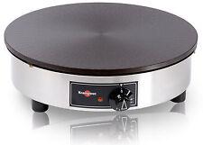 Krampouz 40cm Elektro Crepesgerät 3000W Crepemaker Crepes Platte Crepiere CEBIV4