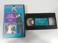LAUREL Y HARDY EN EL OESTE WAY OUT WEST CINTA TAPE VHS COLECCIONISTA GORDO FLACO