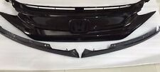 Genuine 2016-17  Civic FC Asian Grossly Black Front Grille Bumper Hood Turbo RS