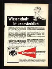 3w86/ Alte Reklame - ca. 1960 - CONSTRUCTA Waschmaschine - Düsseldorf