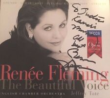 Renee Fleming The Beautiful Voice Digipak Autographed & Annotated Decca 1998 EX