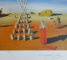 SALVADOR DALI Specter of the Day HAND NUMBERED PLATE SIGNED LITHOGRAPH
